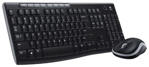 Logitech Wireless Combo MK270 Black USB